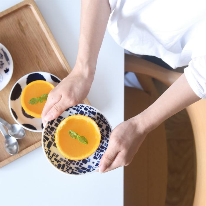 波佐見焼 北欧食器 和食器 おしゃれ natural69 swatch 小皿 手持ち