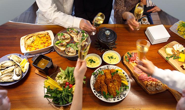ちょい足しでお腹もココロも満たされる牡蠣パーティーのススメ