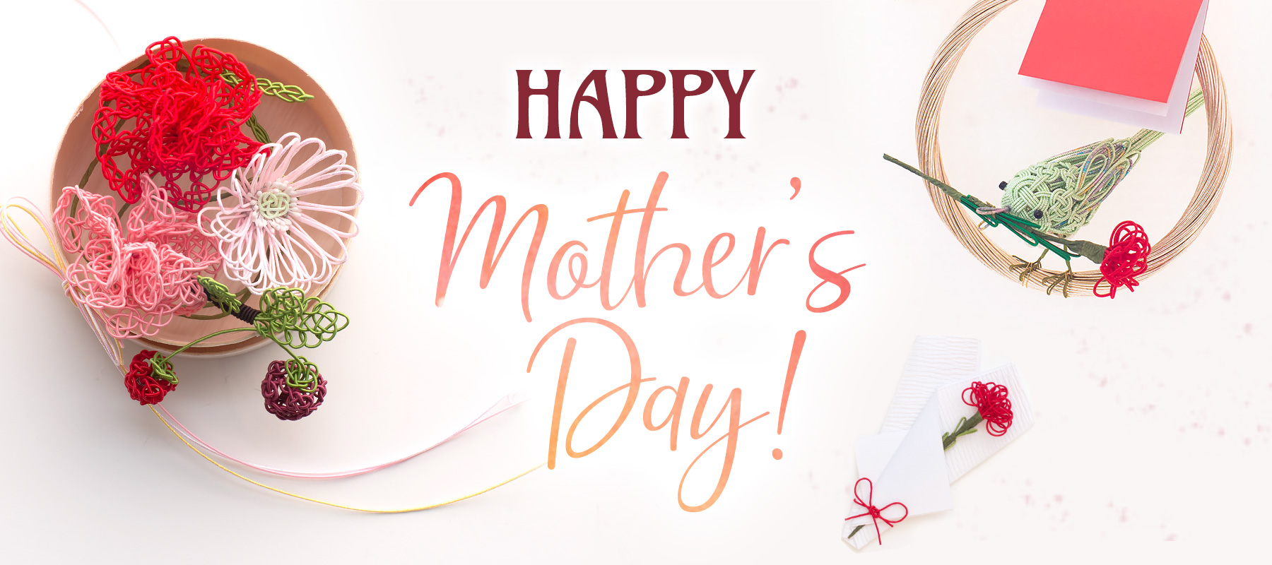 Happy Mother's Day!母の日のプレゼント