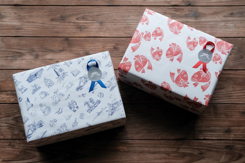 包装紙ギフトラッピング