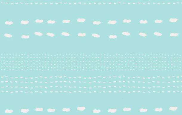 ブルー包装紙