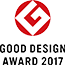 ロゴ:GOOD DESIGN AWARD 2017
