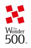 ロゴ:The Wonder 500