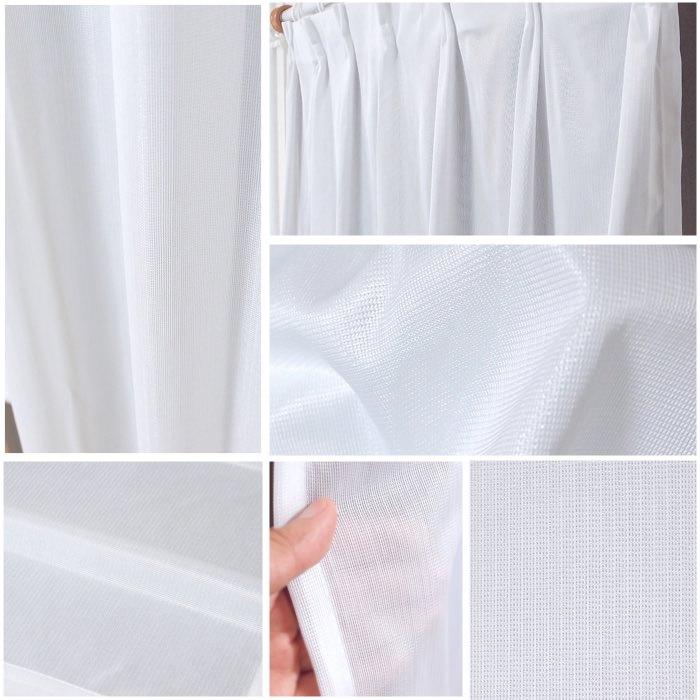 高UVカット断熱遮像の高機能レースカーテンが安い