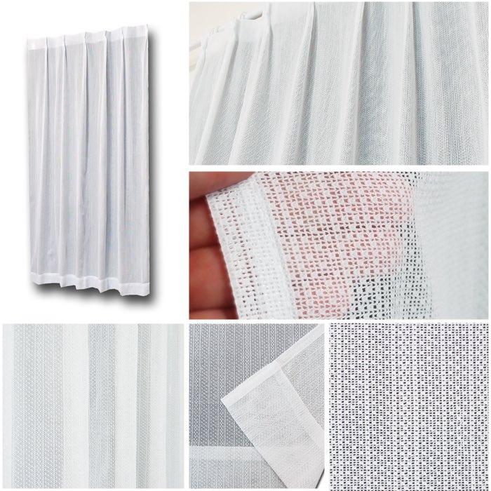 シンプルなデザインと機能でこんなに安いレースカーテン
