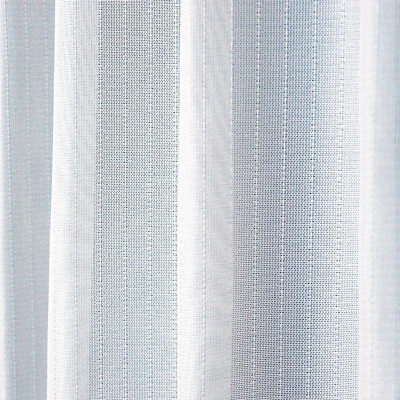 シンプルで清潔感のあるレースカーテン