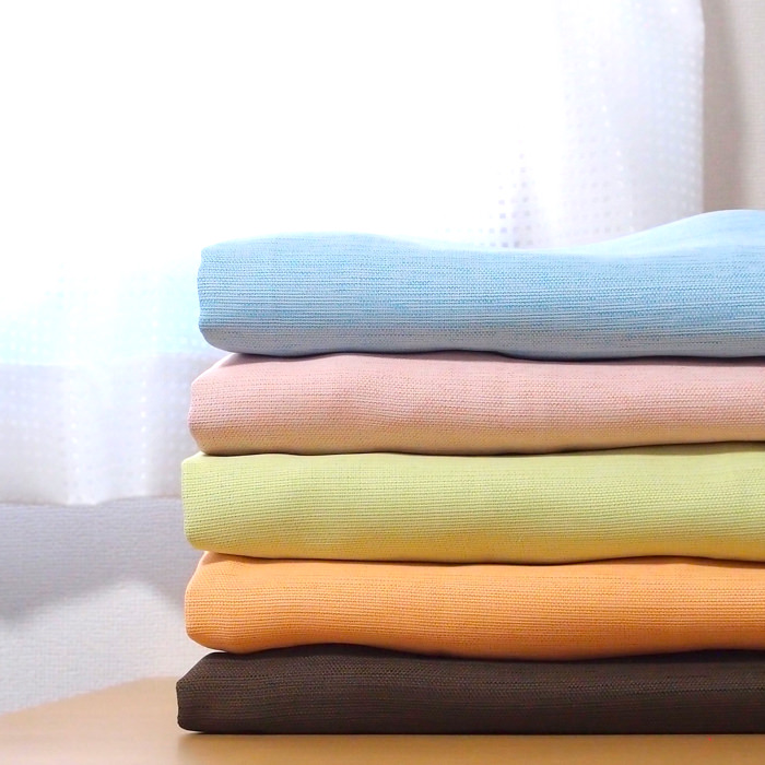 パステルカラーの1級遮光カーテン