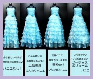 NEW☆ボリュームパニエ♪ ロングドレス用 / 白 / 演奏会 ラミューズドレス通販-5