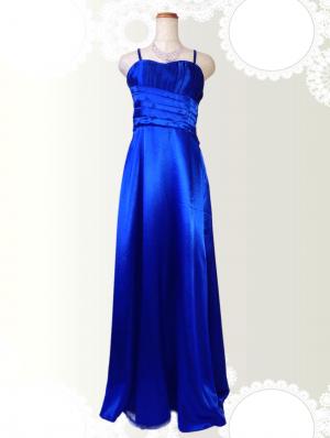 【Lサイズ】カクテルロングドレス/ロイヤルブルー 1942 / 演奏会 ラミューズドレス通販