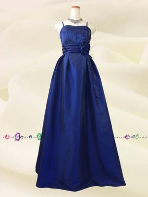 クラシックドール ロングドレス ネイビー 0194/ 演奏会 ラミューズドレス通販