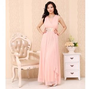 水の色彩〜ロングドレス ピンク 075 / 演奏会 ラミューズドレス通販