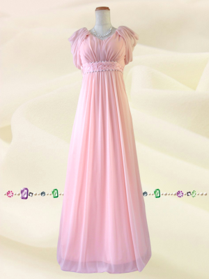 セレナーデ・ピンク ロングドレス 0290 / 演奏会 ラミューズドレス通販