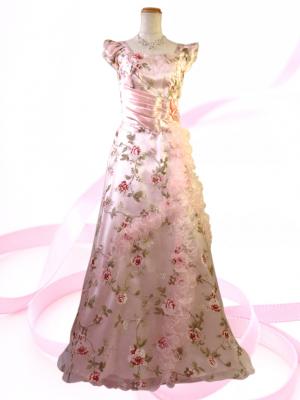 Miss Rose ロングドレス ピンク 0294 /演奏会・ラミューズドレス通販