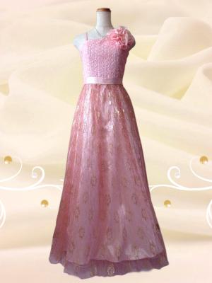 レディ・イン・ローズ*ロングドレス0199 ピンク / 演奏会 ラミューズドレス通販
