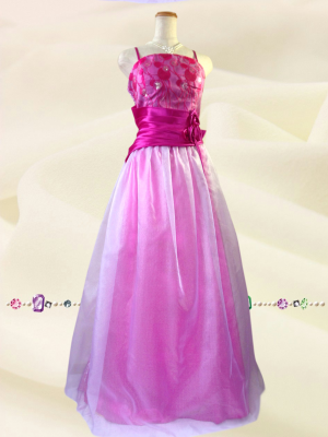 【Lサイズ】ホワイトベール ピンク 0208/ ロングドレス 演奏会 ラミューズドレス通販