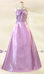 ワルツ ピンク ロングドレス 0305/ 演奏会 ラミューズドレス通販
