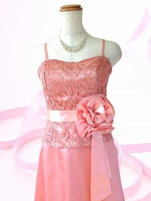 ドルチェピンク♪ロングドレス 演奏会や結婚式に ラミューズドレス通販