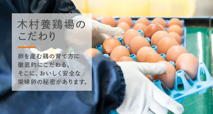 こだわり 卵を産む鶏の育て方に徹底的にこだわる。 そこに、おいしく安全な栄味卵の秘密があります。