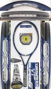 【中古テニスラケット】フォルクル スーパーG V1ミッドプラス