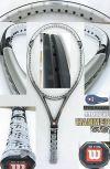 【中古テニスラケット】ウイルソン ・ハンマー5.8 オーバーサイズ