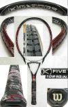 【中古テニスラケット】ウイルソン ・[K]FIVE