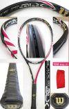 【中古テニスラケット】ウイルソン ・ブレード98 BLX ピンク