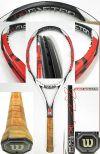 【中古テニスラケット】ウイルソン ・[K]SIX-ONEツアー