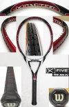 【中古テニスラケット】ウイルソン・[K]FIVE