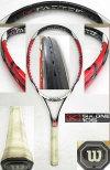 【中古 テニスラケット】ウイルソン・[K]SIX-ONE105