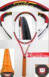 【中古テニスラケット】ウイルソン nSIX-ONEツアー