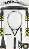 【中古テニスラケット】ウイルソン プロオープンBLX