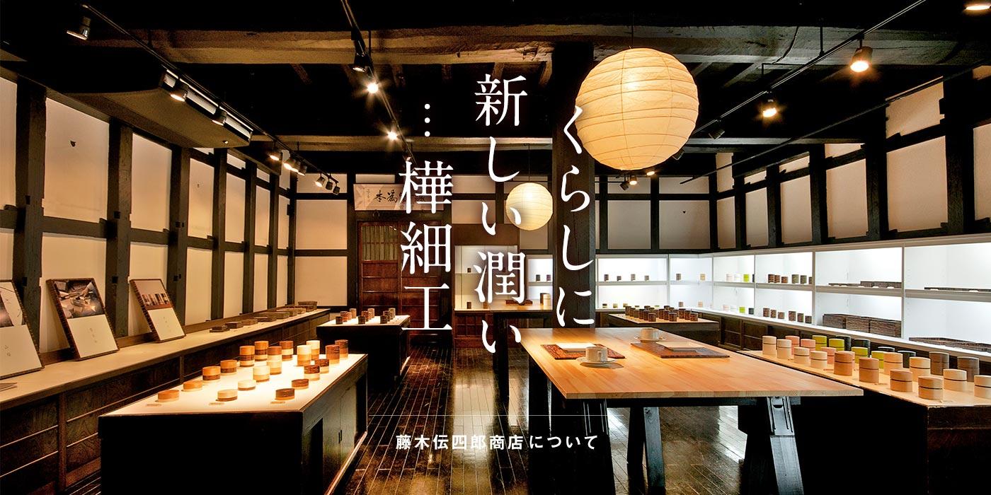 藤木伝四郎商店について