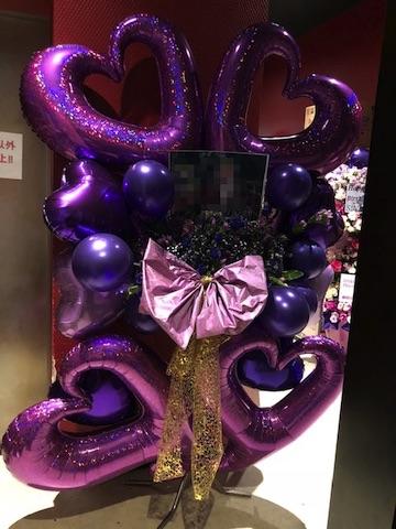 紫バルーン オーダースタンド