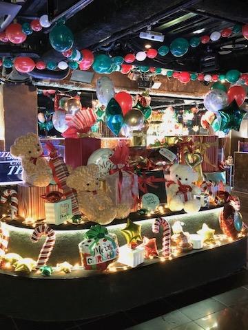 クリスマス店内装飾