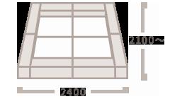 クッションL(300mm角) マット(900mm角)×4枚