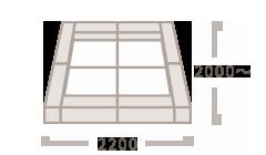 クッションM(200mm角)<br>マット(900mm角)×4枚
