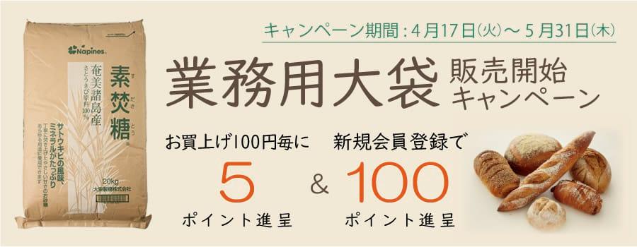 業務用大袋】販売開始キャンペーン!