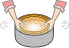 玄米炊飯前の準備