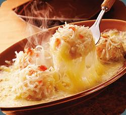 ?しゅうまいチーズグラタン