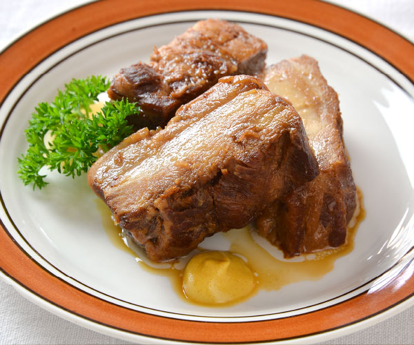 山形のやっこい豚角煮【贈答品】 全体