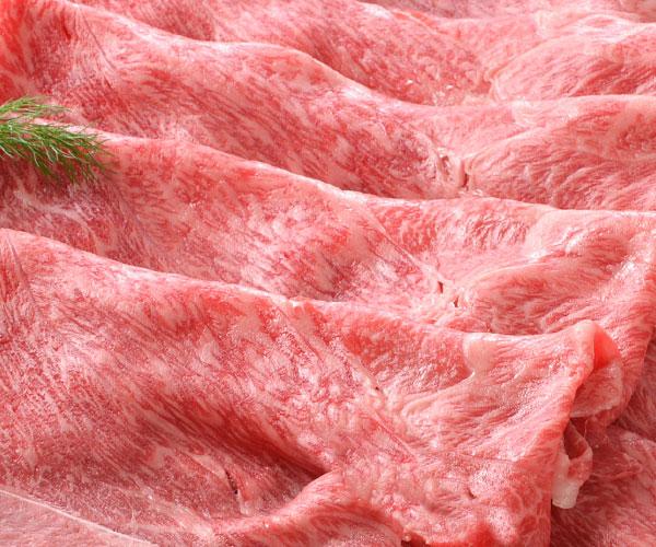 山形牛すき焼き(もも・肩) アップ