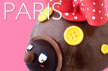 てんとう虫のアイスケーキ ファッションをテーマにした「コクシネル ア パリ」