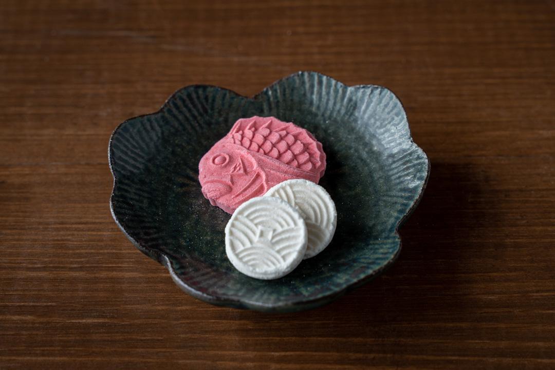 【築地 祥郎】松竹梅祝杯・豆皿セット