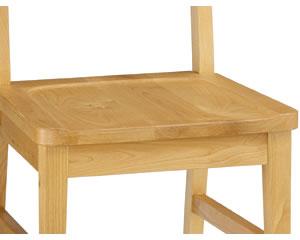 セレス:座面彫り込み