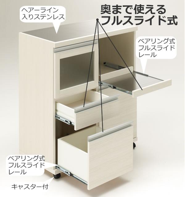 フナモコ ステンレストップ ハイカウンター/スライドカウンター