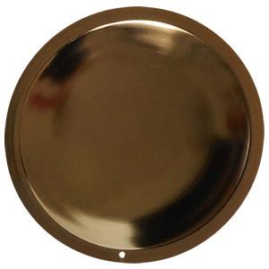 ギャルソン GD(HS-HGD-015):円形のプレートもゴールド色