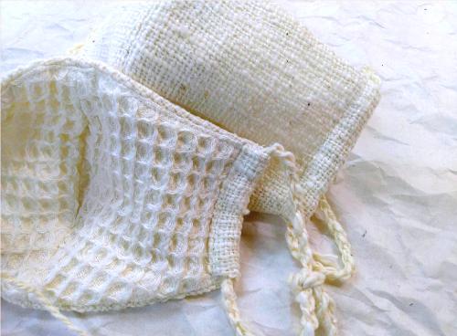 和綿マスク平織り1