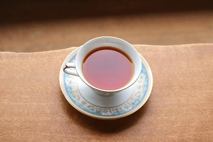 ティーカップ紅茶の画像