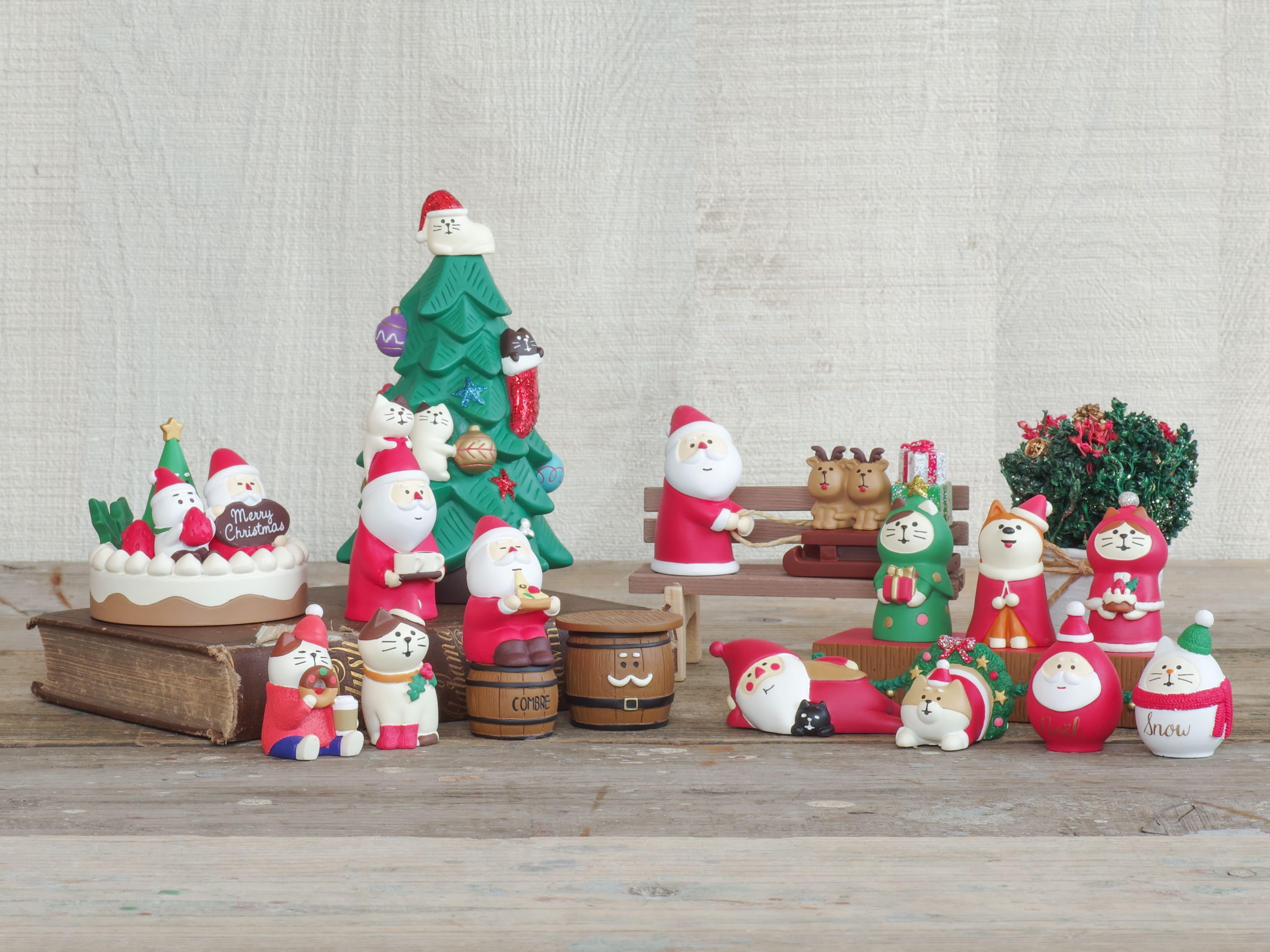 コンコンブル クリスマスマスコット1