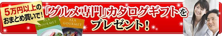 「グルメ専門」カタログギフトをプレゼント!